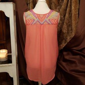 BNWT!!Womens HAZE  blouse drawstring waist